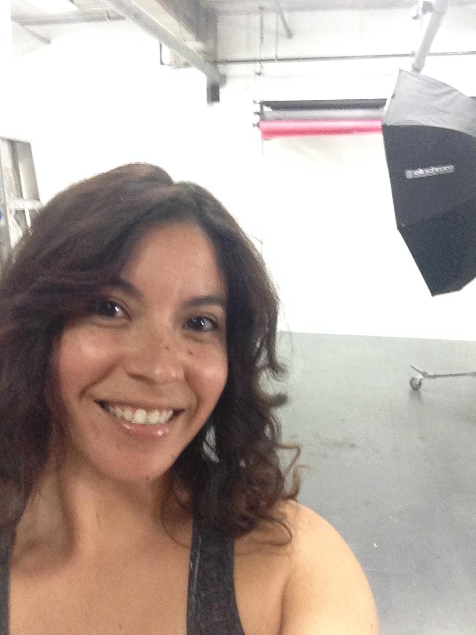 At the shoot