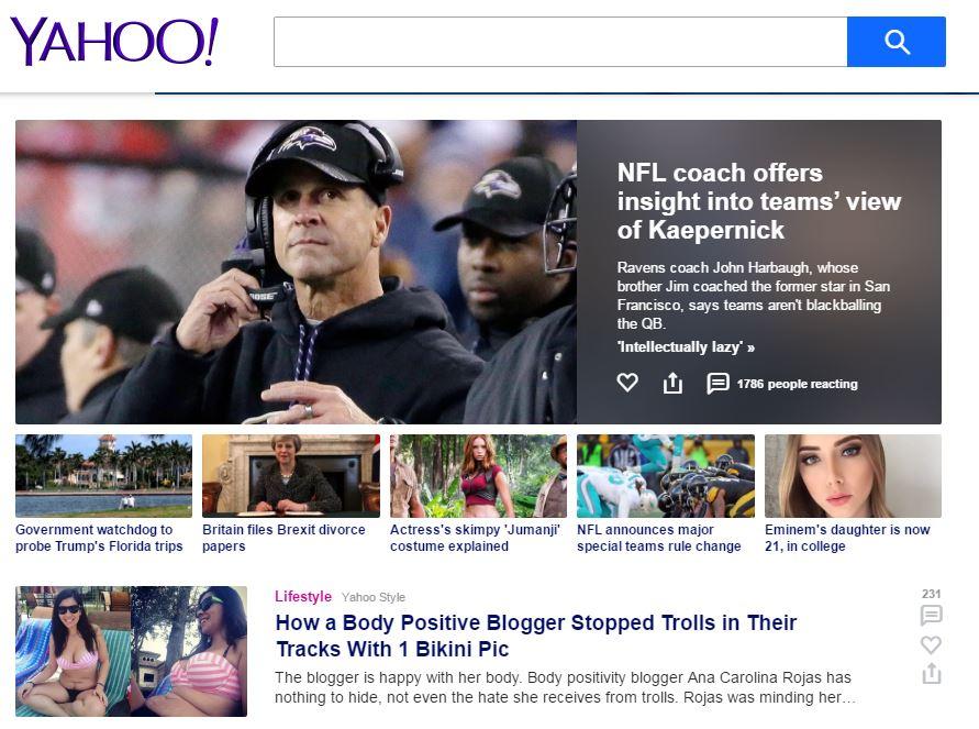 Yahoo Article