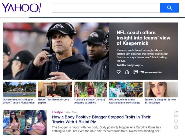 Yahoo Article