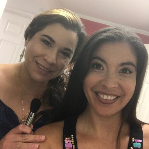 Ana with Amanda